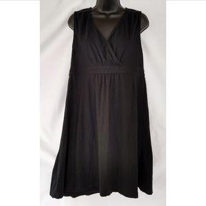 Eddie Bauer Black Cotton Dress